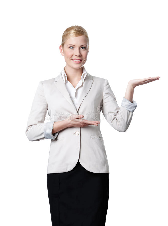 biznesowe oferty potomstwo kobiet potomstwa zdjęcie stock