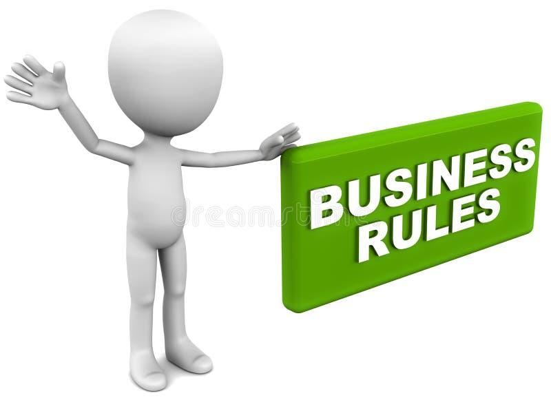 Download Biznesowe reguły ilustracji. Ilustracja złożonej z biały - 28952426