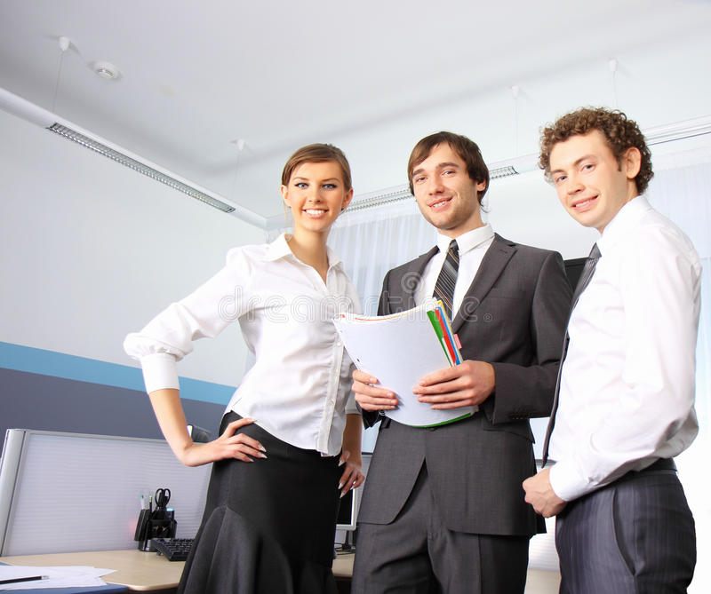 biznesowego biura drużyny działanie obraz royalty free