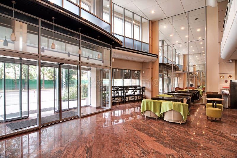 Biznesowego centre lobby obraz royalty free