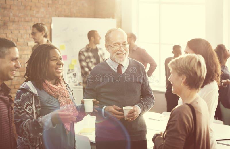 Biznesowego Korporacja organizaci pracy zespołowej pojęcie obrazy royalty free