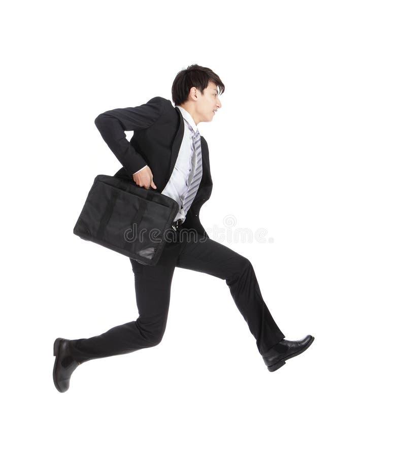 Biznesowego mężczyzna bieg obraz stock
