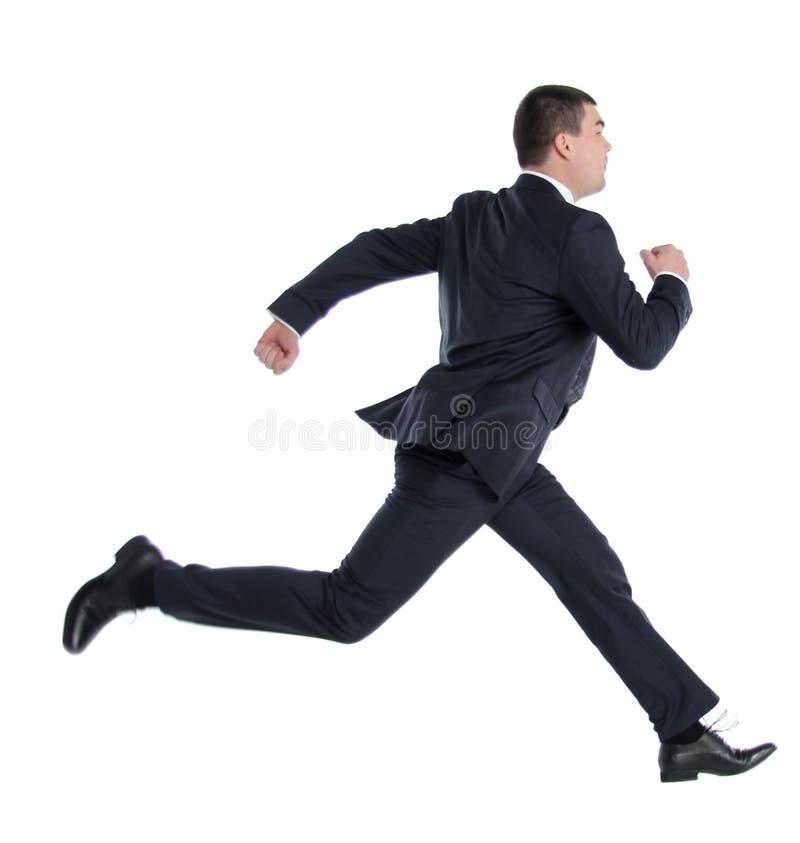 Biznesowego mężczyzna bieg zdjęcie royalty free
