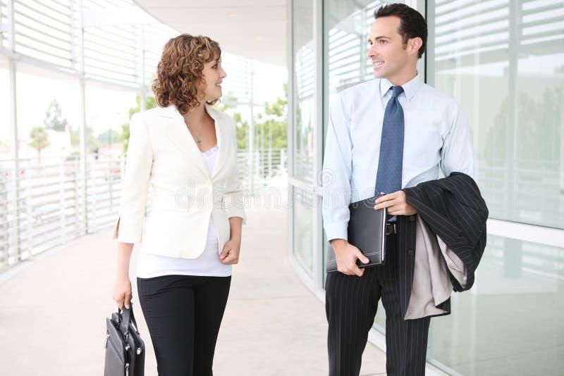 biznesowego mężczyzna biura drużyny kobieta obrazy royalty free