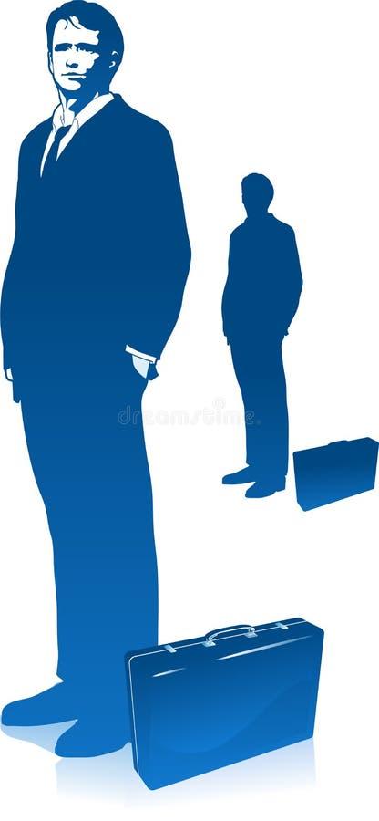 biznesowego mężczyzna czekanie