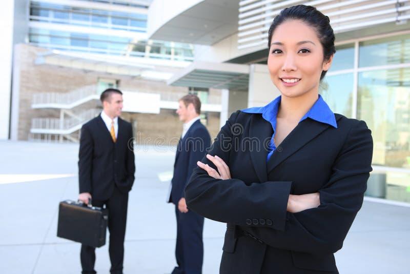biznesowego mężczyzna drużyny kobieta zdjęcie stock