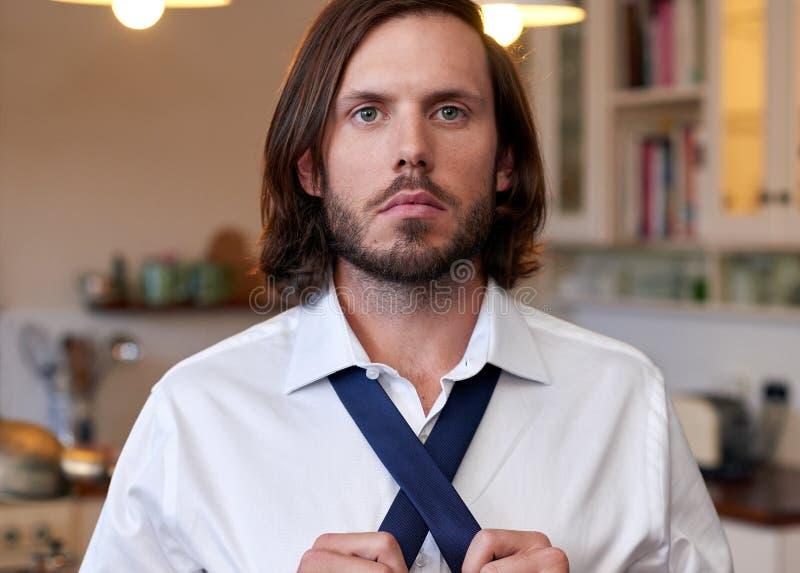 Biznesowego mężczyzna krawat zdjęcie royalty free