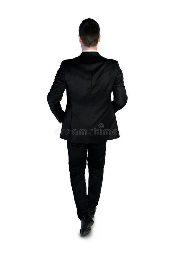 Biznesowego mężczyzna odprowadzenie zdjęcie stock