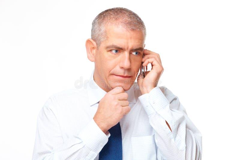 biznesowego mężczyzna portret poważny zdjęcie stock