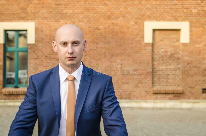 biznesowego mężczyzna portreta potomstwa obraz stock
