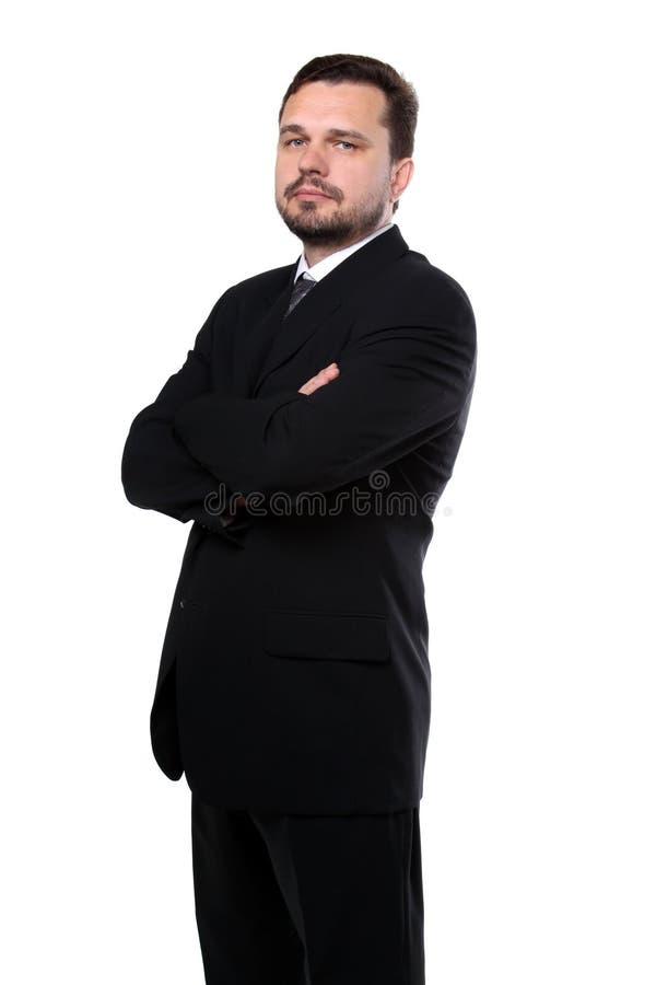 biznesowego mężczyzna portreta przedstawiciel obraz stock