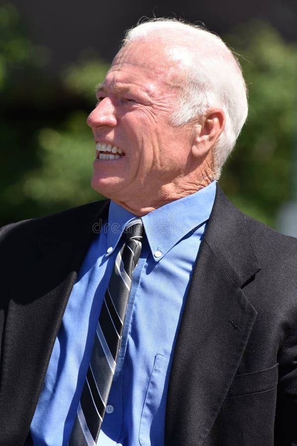 biznesowego mężczyzna portreta senior fotografia royalty free