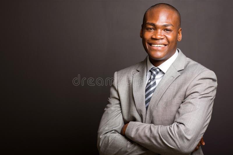Biznesowego mężczyzna ręki składać obraz stock