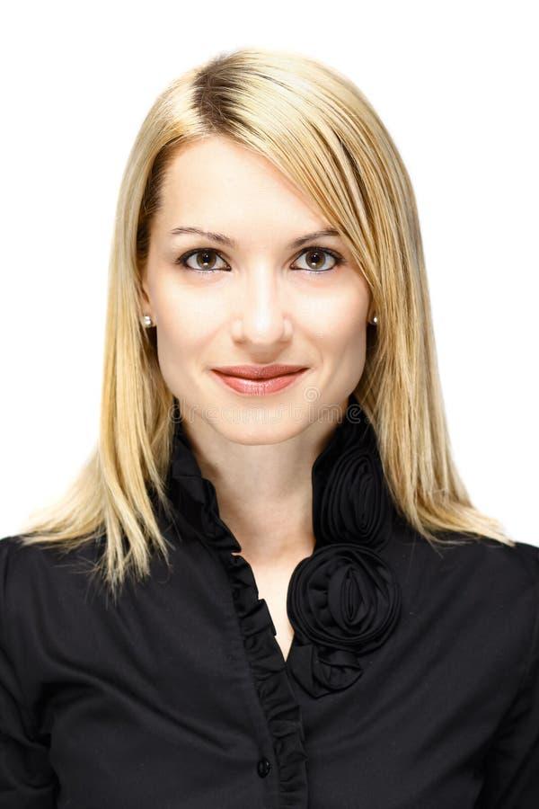biznesowego portreta pomyślna kobieta zdjęcie royalty free