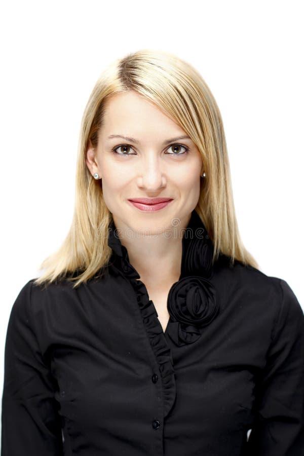 biznesowego portreta pomyślna kobieta obrazy royalty free