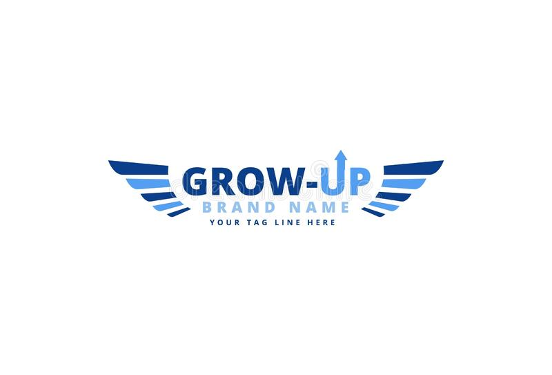 biznesowego projekta logo royalty ilustracja