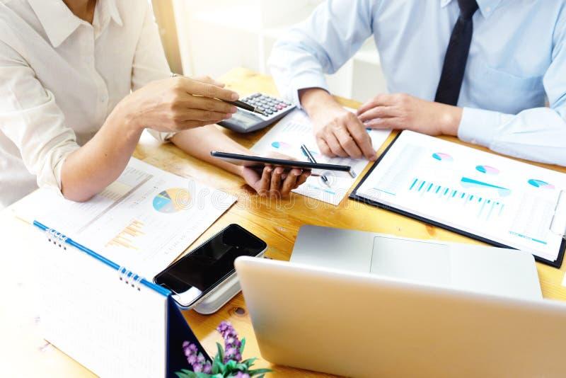 Biznesowego spotkania biznesmen obraz stock
