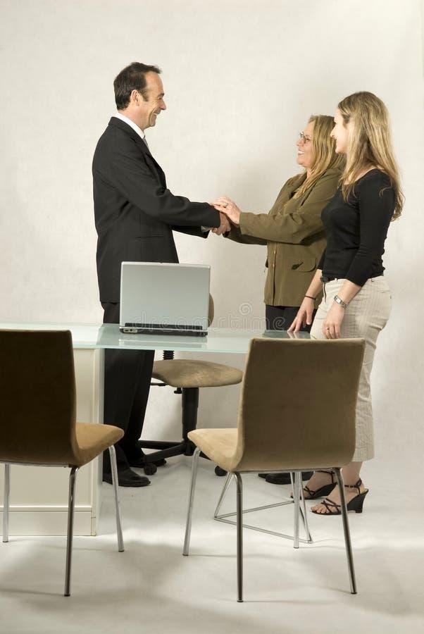 biznesowego spotkania ludzie zdjęcia stock