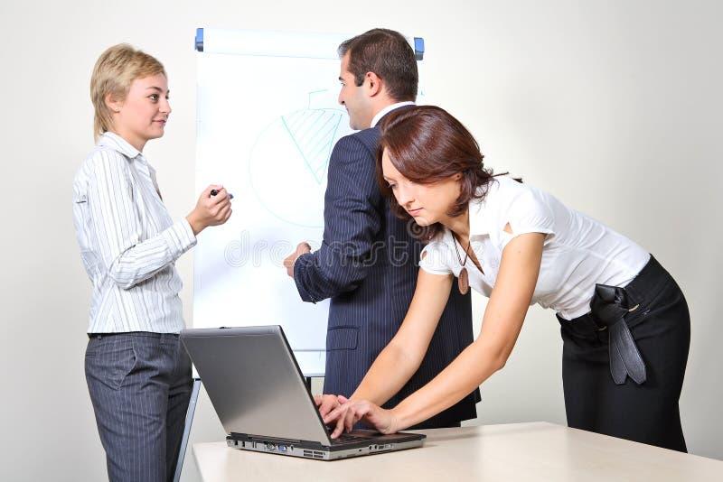 biznesowego spotkania prezentaci projekt zdjęcia stock