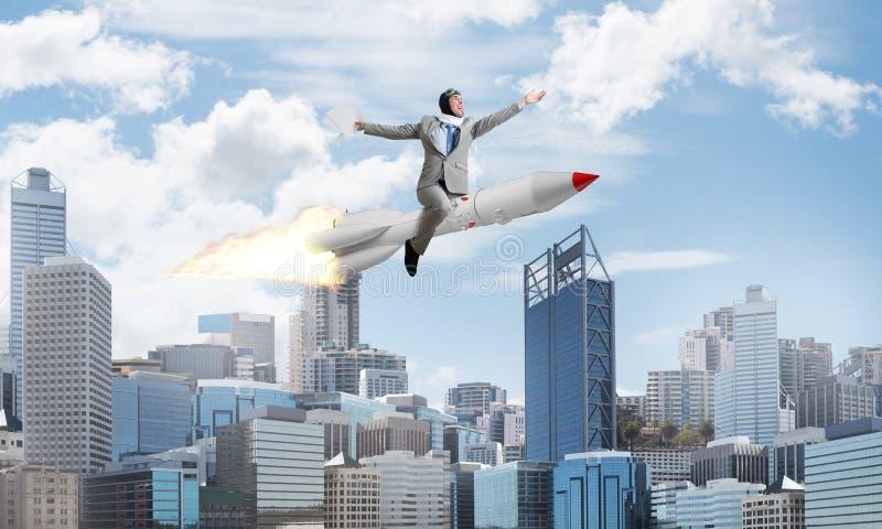 Biznesowego sukcesu i celów osiągnięcia pojęcie obraz royalty free