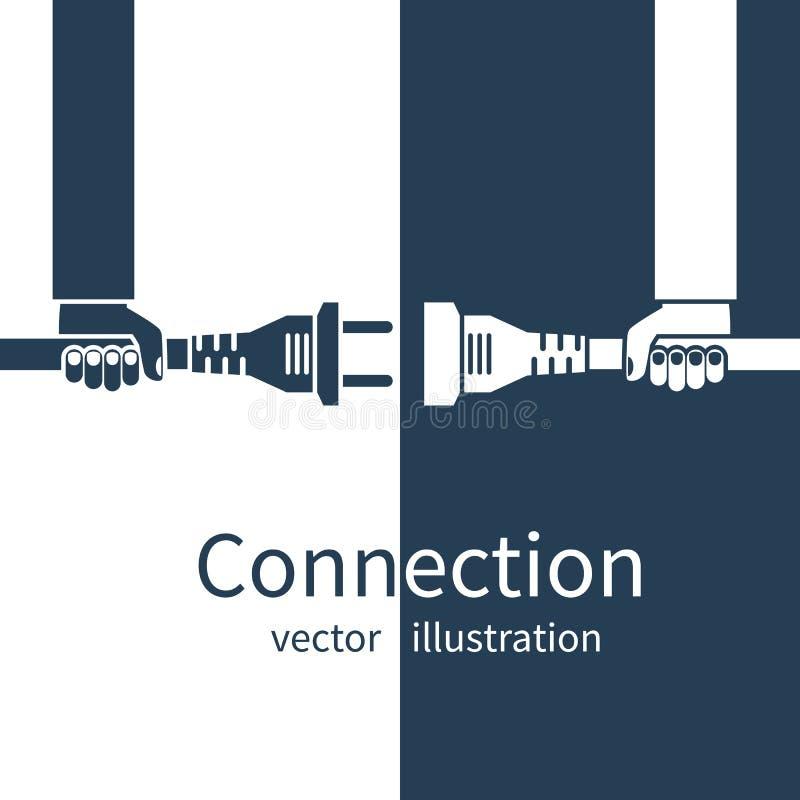 Biznesowego związku pojęcie ilustracja wektor