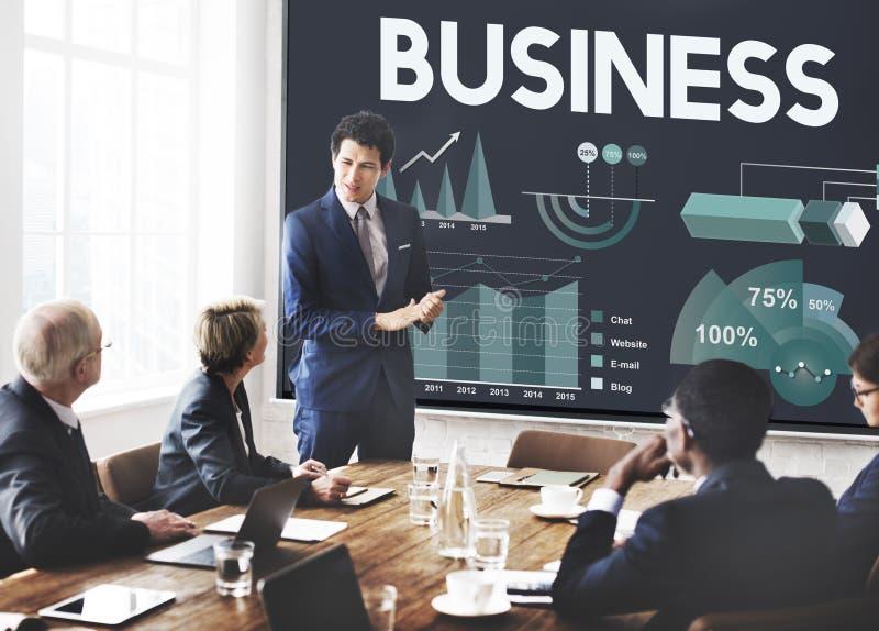 Biznesowej firmy Korporacyjnego przedsięwzięcia Organisation pojęcie obraz stock