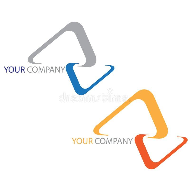 biznesowej firmy logo royalty ilustracja