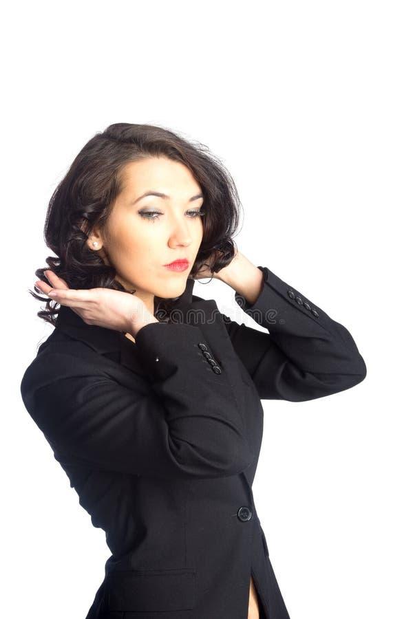 Download Biznesowej kobiety portret zdjęcie stock. Obraz złożonej z rozmowa - 28958518