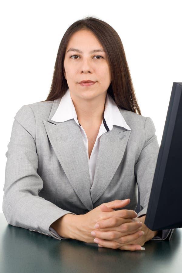 biznesowej kobiety potomstwa fotografia stock