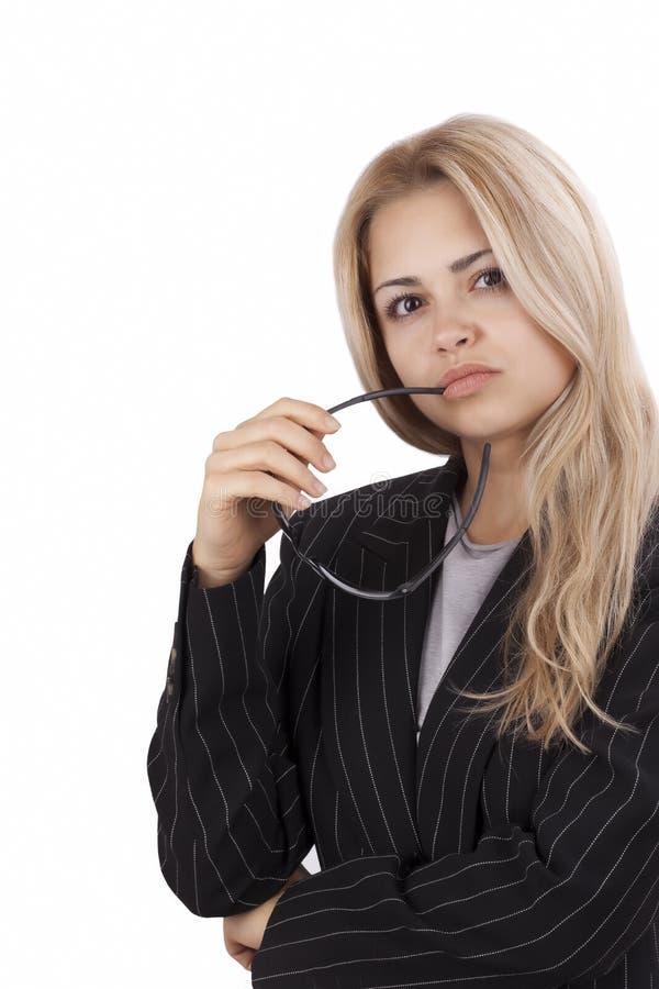 biznesowej kobiety potomstwa zdjęcie stock