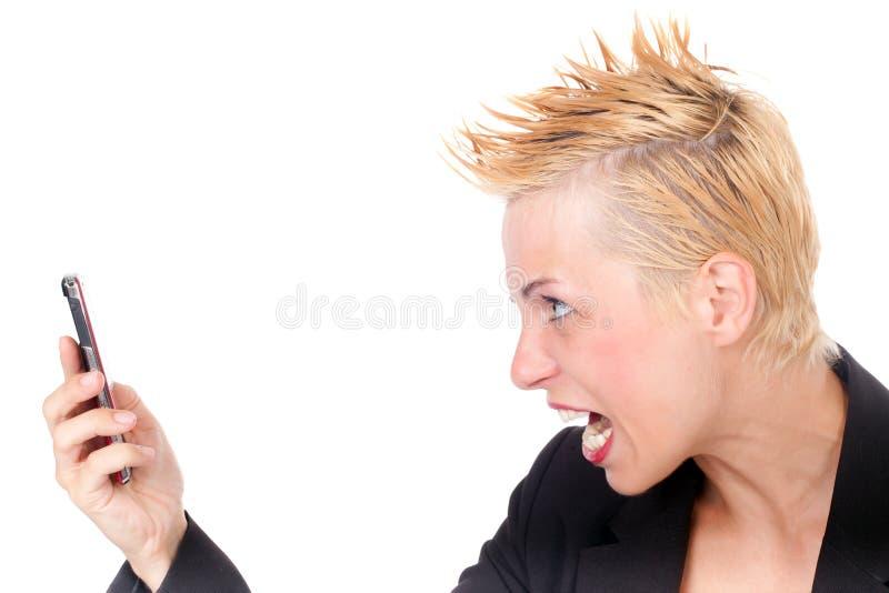 biznesowej kobiety target133_0_ fotografia stock