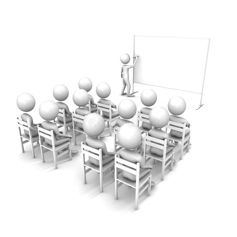 biznesowej konferenci wykład ilustracji
