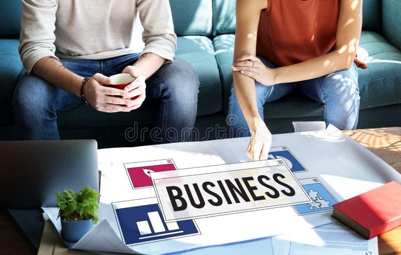 Biznesowej Pracującej analizy Planistyczny pojęcie zdjęcie royalty free