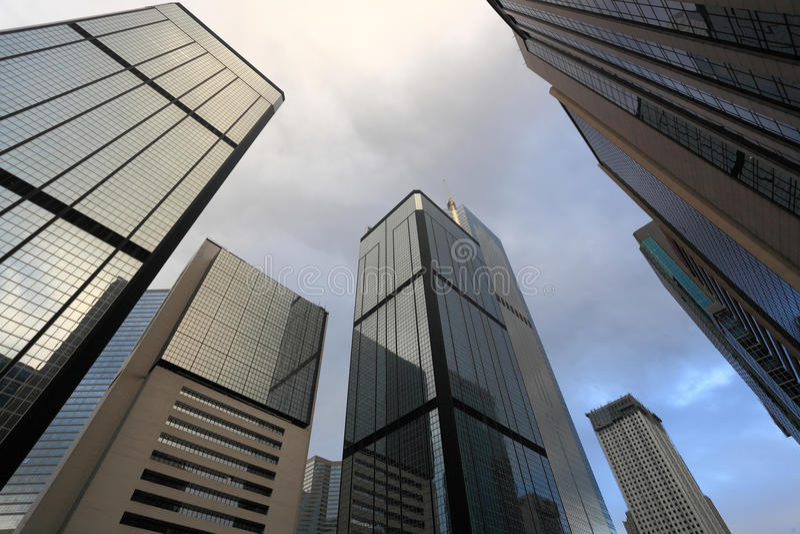 Biznesowi budynki obrazy stock