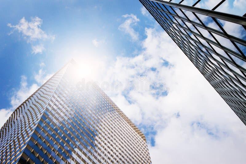 Biznesowi budynki biurowi zdjęcie stock