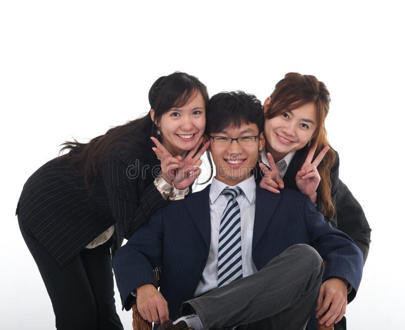 biznesowi chińczycy zdjęcie royalty free