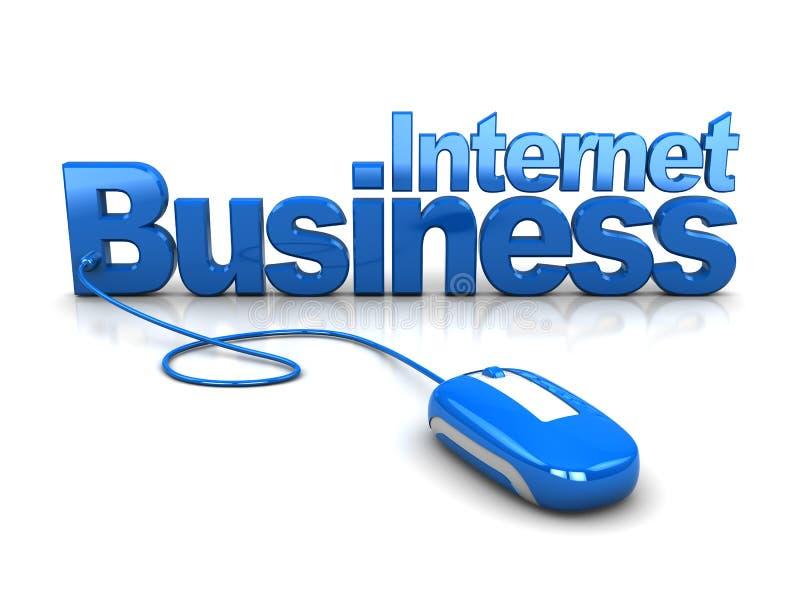 biznesowi internety ilustracji