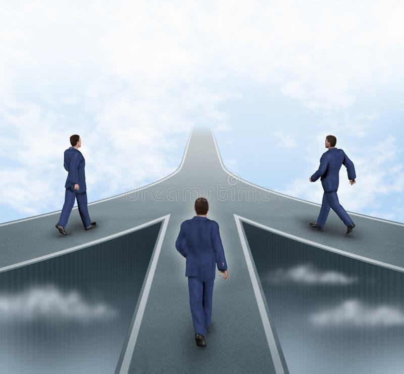 biznesowi partnerstwa ilustracji