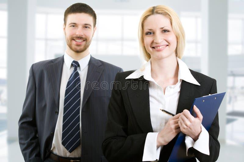 biznesowi ufni ludzie dwa zdjęcie royalty free