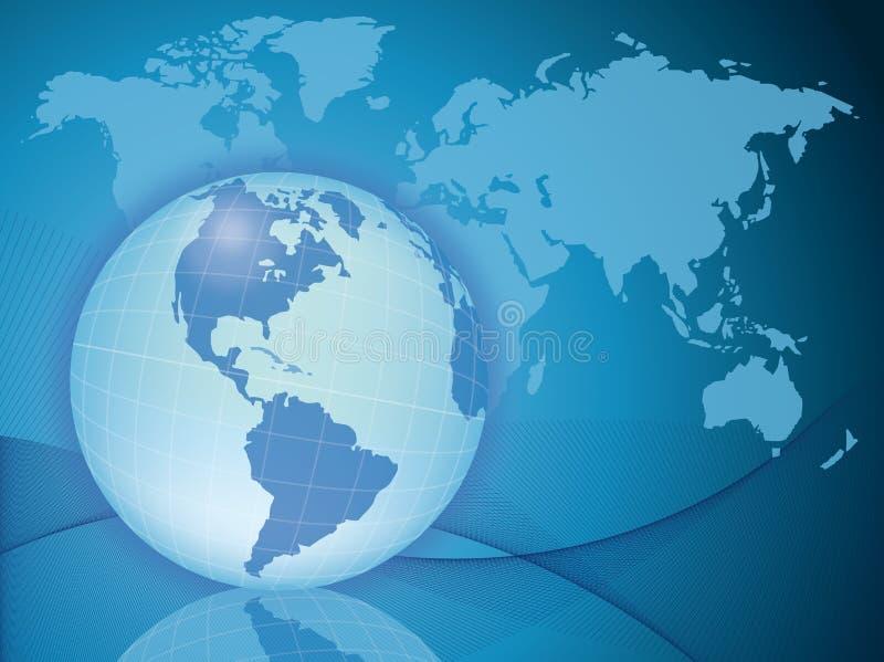 biznesowy świat ilustracja wektor
