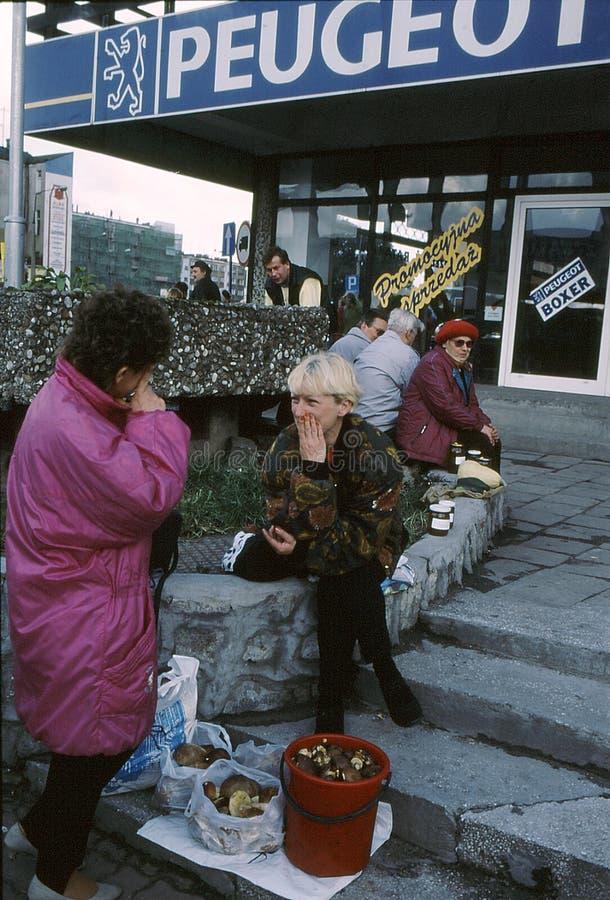 BIZNESOWY życie codzienne GORZOWSKI POLLAND zdjęcie royalty free
