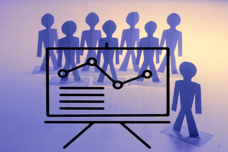 Biznesowy analityk, Drużynowy szkolenie zdjęcie royalty free