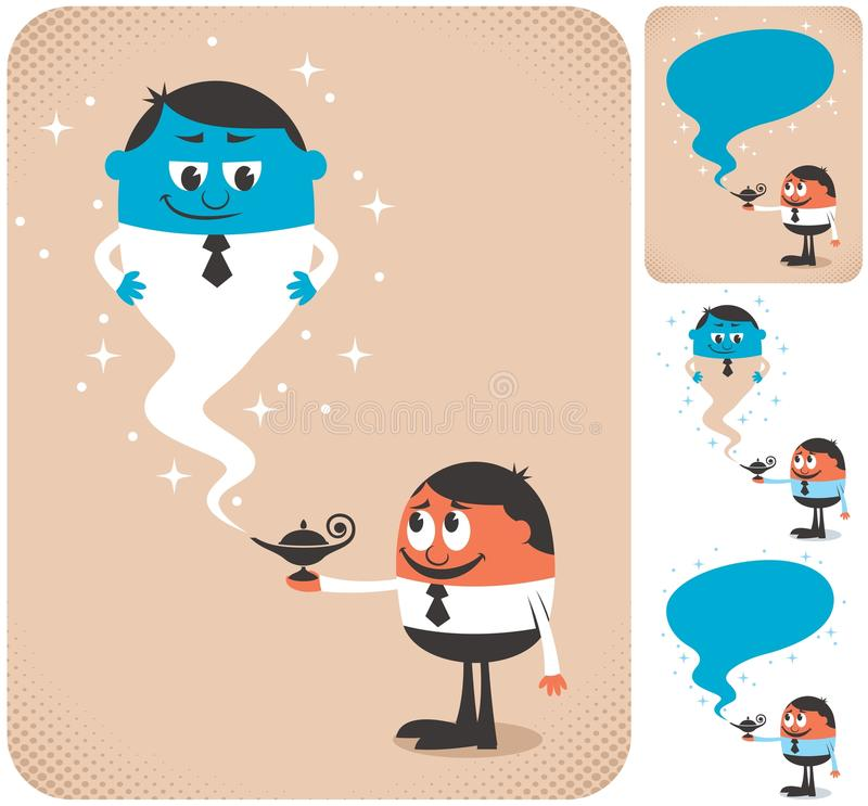 Biznesowy asystent 2 ilustracji