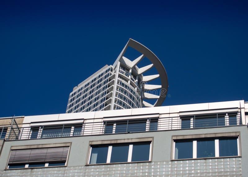Biznesowy budynek w Westend, Frankfurt, Niemcy obraz stock