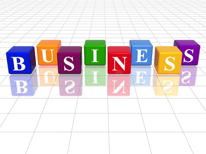 biznesowy colour ilustracja wektor