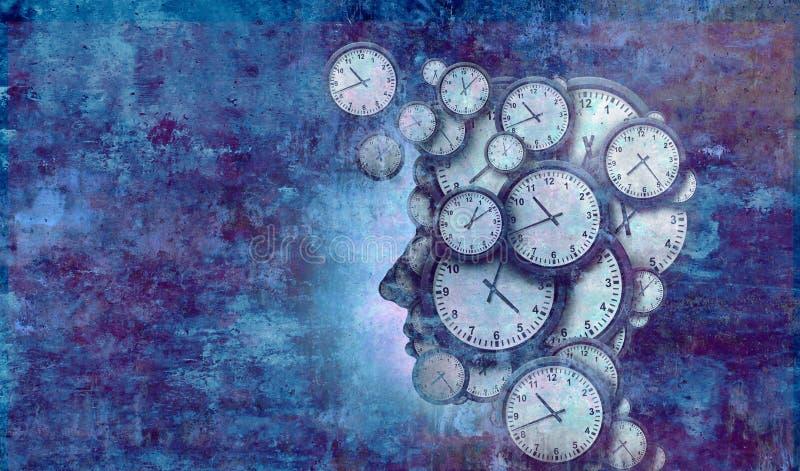 Biznesowy czasu pojęcie ilustracja wektor