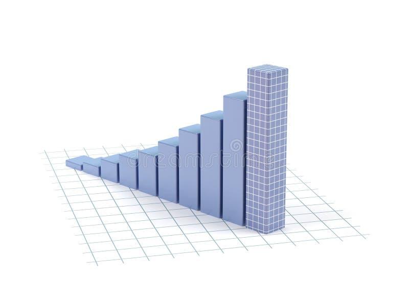 biznesowy diagram ilustracji