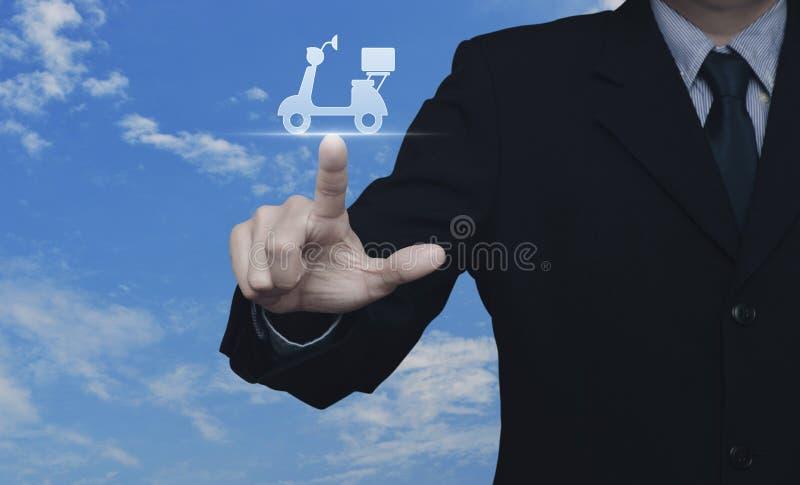 Biznesowy doręczeniowej usługa pojęcie zdjęcie stock