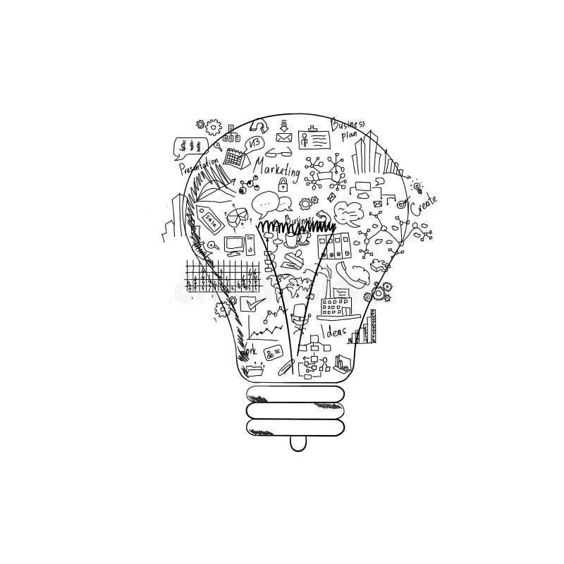 Biznesowy główkowanie ilustracja wektor