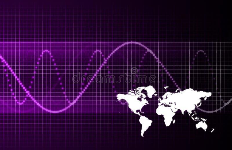 biznesowy globalny zawody międzynarodowe ilustracja wektor